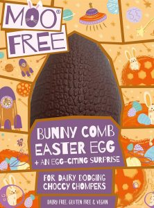 Moo Free Dairy Free Bunnycomb Chocolate Easter Egg 95g