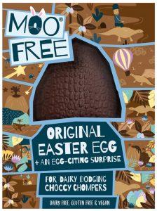Moo Free Dairy Free Chocolate Easter Egg 95g