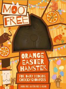 Moo Free Dairy Free Orange Hammy Chocolate Easter Egg 80g