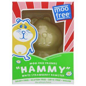 Moo Free White Chocolate & Strawberry Hammy