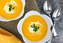Creamy Golden Sweetcorn Gazpacho Soup