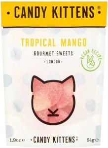 Candy Kittens Tropical Mango Vegan Sweets 54g
