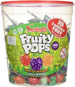 Swizzels Fruity Pops Lollies (130)