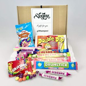 Vegan Retro Sweet Hamper Gift Box