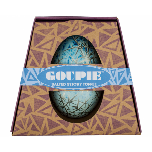 Goupie Fabergé Salted Sticky Toffee Confection Filled Easter Egg