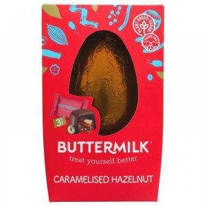 Buttermilk Caramelised Hazelnut Egg Salted Caramel Duos