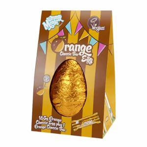 Mummy Meagz Orange Choccie Easter Egg with Choccie Orange Bar 200g