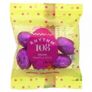 Rhythm 108 Swiss Chocolate Truffle Mini Foil Eggs 36g