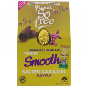 So Free Smooth Salted Caramel Easter Egg and Bunny Bar 110g