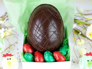 The Pod 54% Cocoa Vegan Chocolate Hand Made Easter Egg