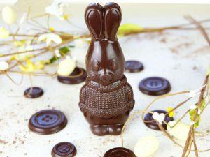 The Pod Vegan 55% Cocoa Easter Bunny