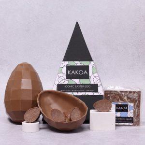 KAKOA Vegan Iconic Chocolate Easter Egg